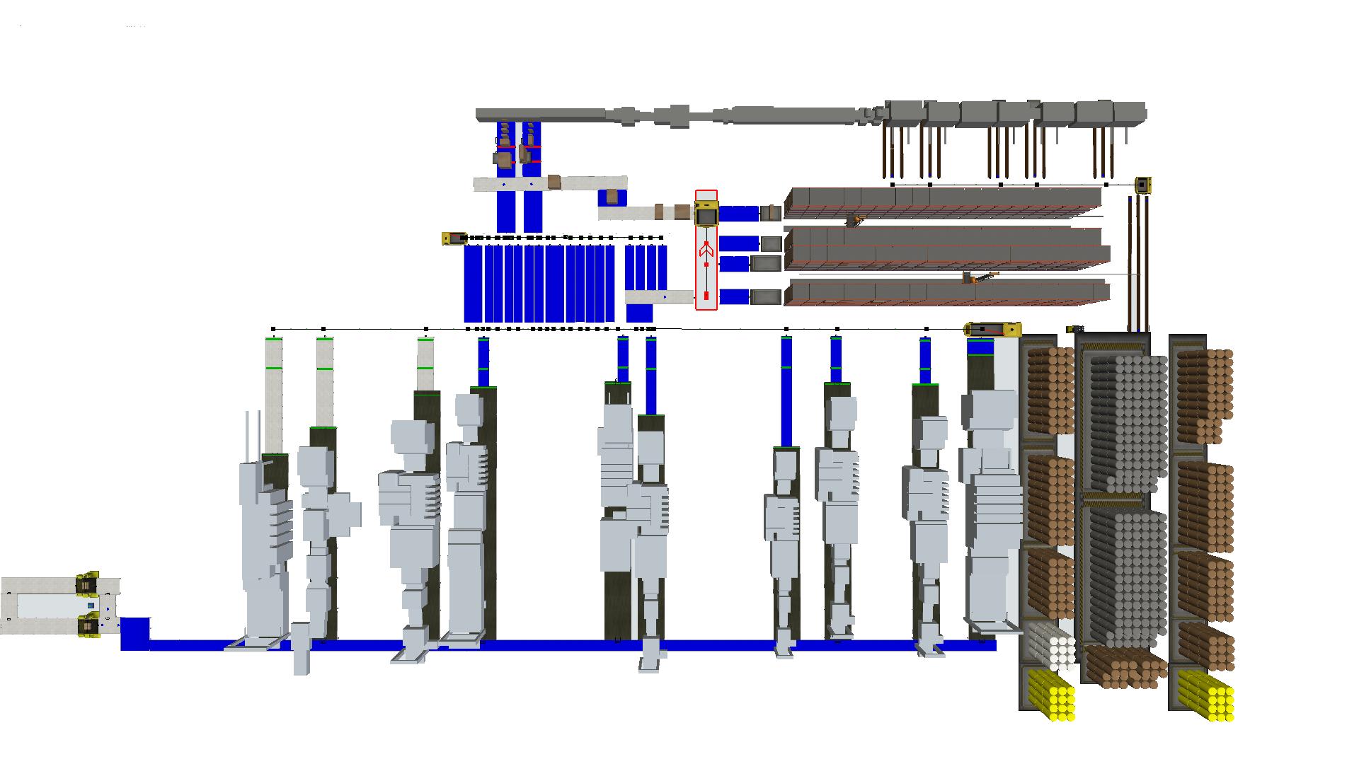 El software IMOVE ofrece ventajas clave al proceso de fábrica.